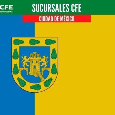 sucursales cfe ciudad de mexico