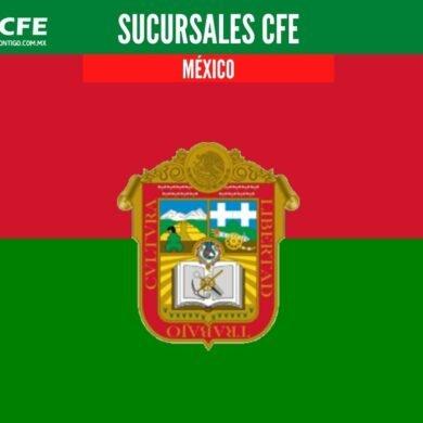 sucursales cfe mexico
