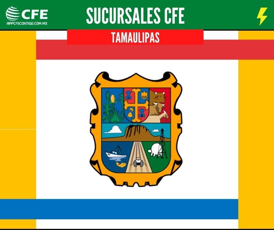 sucursales cfe tamaulipas